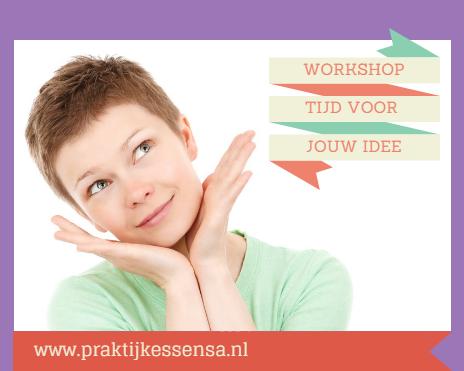 praktijk Essensa workshop tijd voor jouw idee